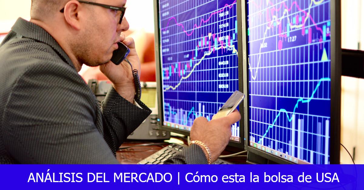Cómo esta la bolsa de valores hoy en Estados Unidos: Octubre 29