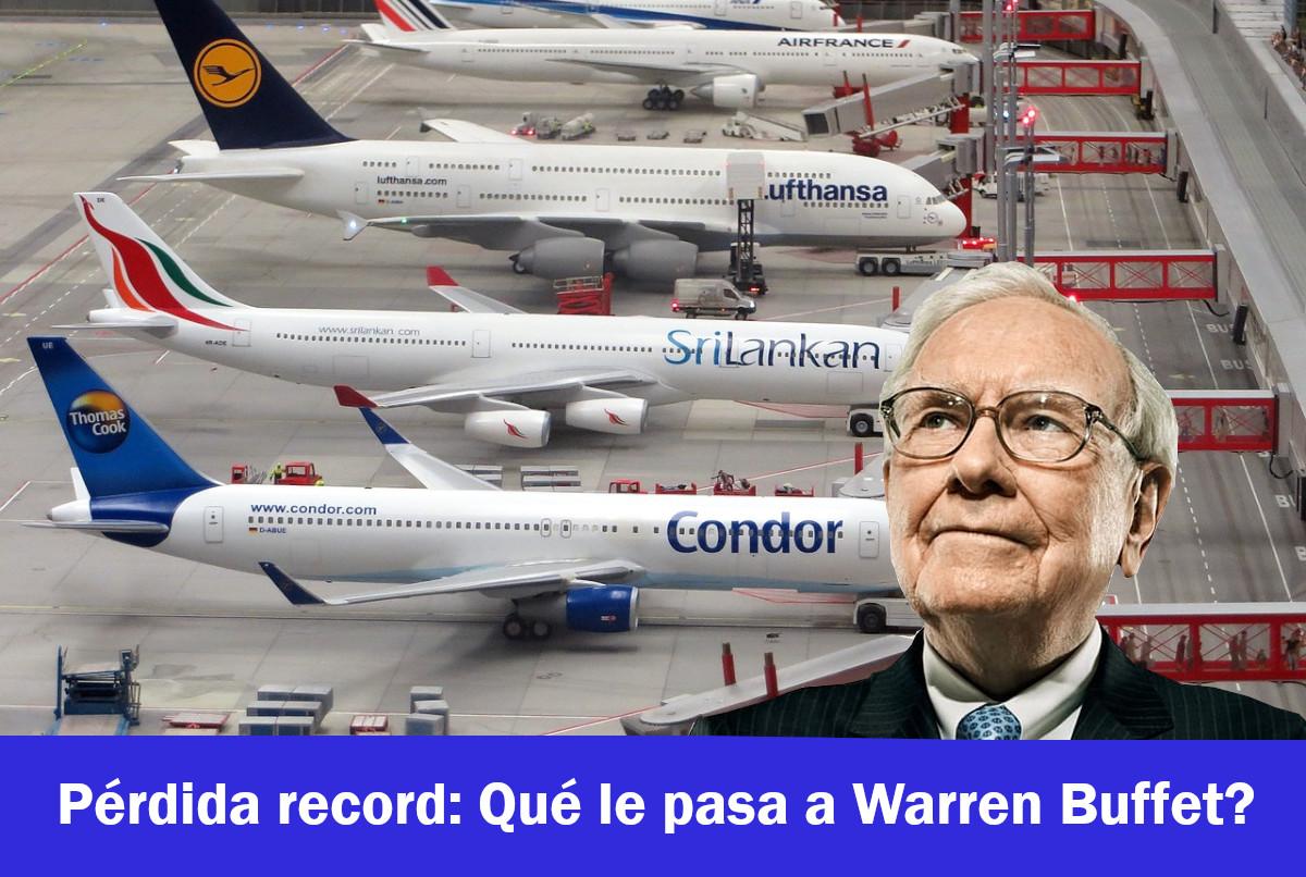 Cómo recuperar una pérdida record como la de Warren Buffet en plena crisis
