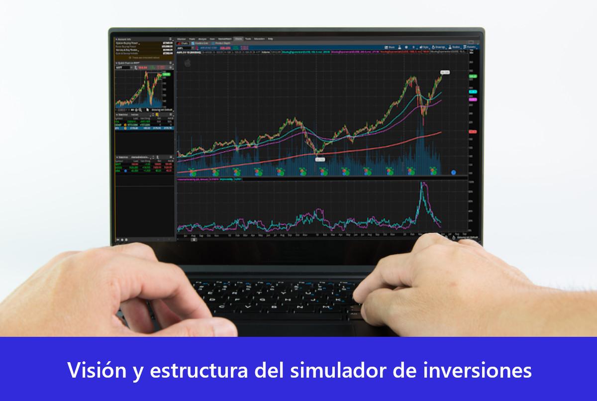 Visión y estructura del simulador de inversiones